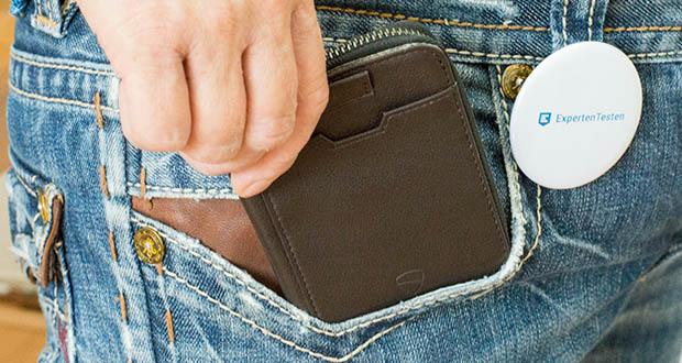 Jeans Geldbeutel aus alten Jeans gefertigt mit Druckknopf sowie viele Fächer  6
