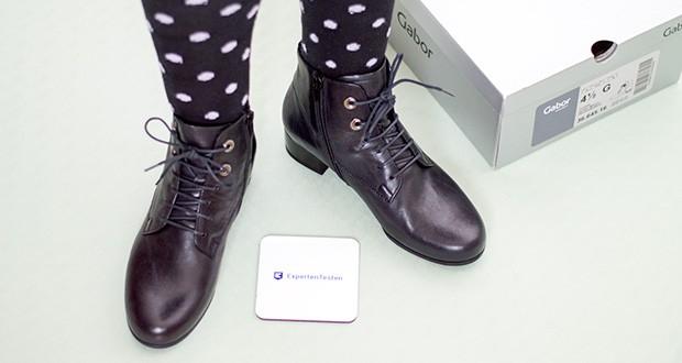 Gabor Damen Comfort Basic Stiefeletten im Test - hoher Tragekomfort durch herausnehmbares Fußbett