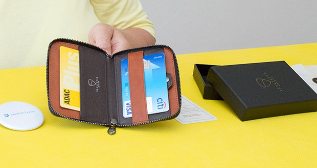 Vaultskin Notting Hill Geldbörse im Test - absoluter RFID-Schutz in Verbindung mit einem schlanken und eleganten Design