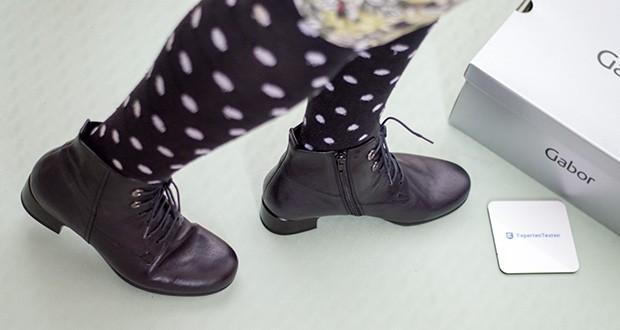 Gabor Damen Comfort Basic Stiefeletten im Test - Gummizüge, Schnürungen, Stretch-Einsätze oder Klettverschlüsse sorgen für zusätzliche Funktionalität und besonderen Komfort