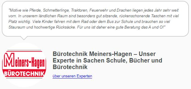 Schulranzen Trends 2020 von Bürotechnik Meiners-Hagen