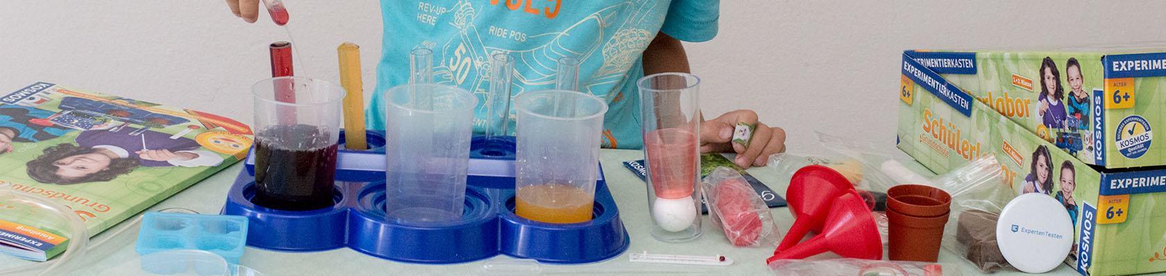 Chemiebaukästen im Test auf ExpertenTesten.de