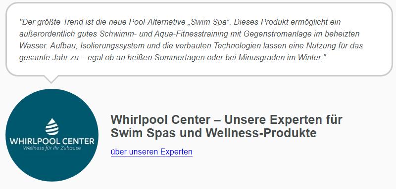 Beste Pool Trends 2020 vom Whirlpool Center
