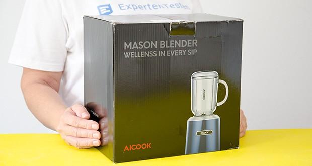 AICOOK Smoothie Maker im Test - 24 Stunden Kundendienst und 2 Jahre Garantie sind inbegriffen