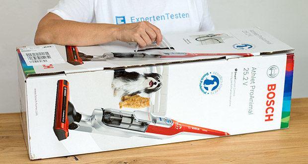 Bosch BCH6ZOOO Athlet Akku Staubsauger im Test - praktisch für Tierbesitzer