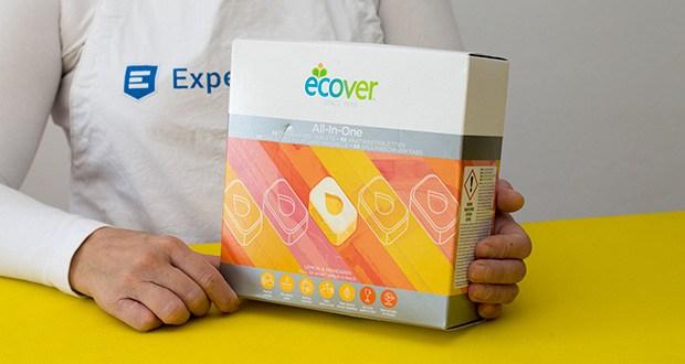 Ecover All-In-One Spülmaschinen-Tabs Zitrone & Mandarine im Test - entfesseln die Kraft biologisch abbaubarer Inhaltsstoffe