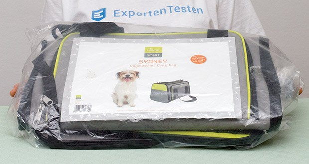HUNTER SYDNEY Tragetasche für Hunde und Katzen im Test - Farbe: Hellgrün/ grau; Gewicht: 1.17 kg