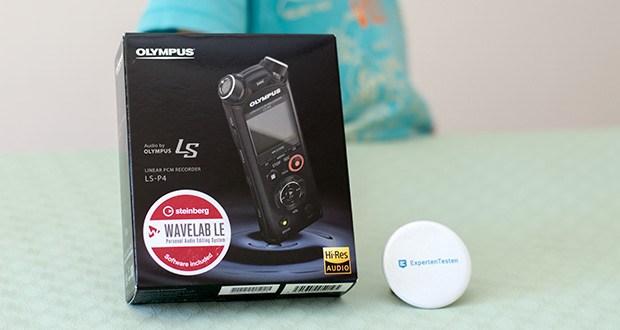 Olympus LS-P4 Hi-Res Audiorekorder im Test - ist einer der ersten linearen PCM-Rekorder der Welt, der im FLAC-Format aufnehmen kann