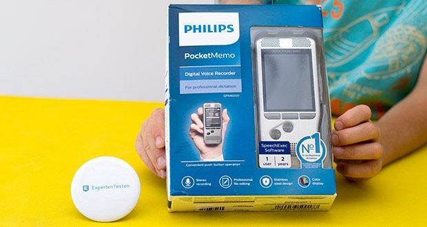 Philips DPM6000 Digitales Diktiergerät im Test - das Pocket Memo bringt Diktierlösungen auf ein vollkommen neues Niveau