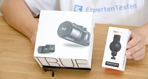 VANTRUE N4 3 Lens Dashcam im Test - 12-monatige Garantie