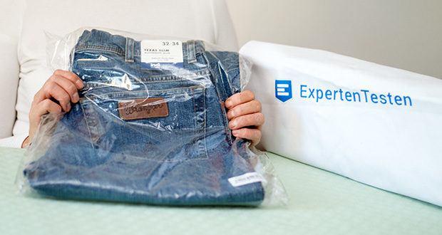 Wrangler Herren Texas Slim Jeans im Test - Modellnummer: W12SP690A