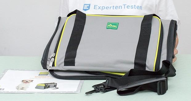 HUNTER SYDNEY Tragetasche für Hunde und Katzen im Test - abwaschbare Transporttasche mit Schulterriemen für Hunde und Katzen