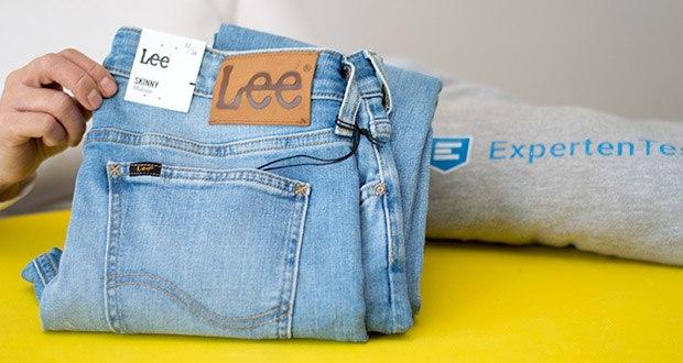 Lee Herren Malone' Jeans im Test - 90,5% Baumwolle, 8% Polyester, 1,5% Elasthan