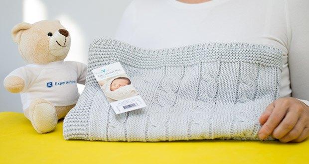 Wallaboo Babydecke Noa im Test - 100% Made in Germany