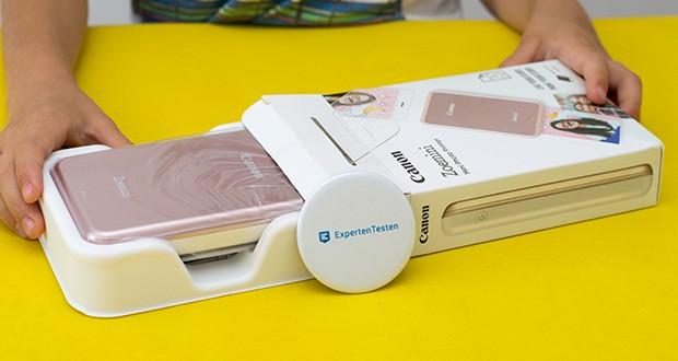 Canon Zoemini Mini Fotodrucker im Test - kein verschmieren, kein reißen, keine Tinten und zudem feuchtigkeitsbeständig
