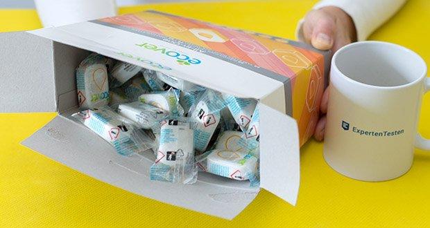Ecover All-In-One Spülmaschinen-Tabs Zitrone & Mandarine im Test - hat eine innovative Formel mit pflanzenbasierten