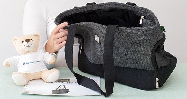 HUNTER BARCELONA Tragetasche für Hunde und Katzen im Test - mit einem robustem Baumwoll-Polyestermaterial