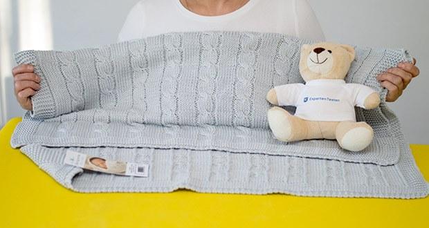 Wallaboo Babydecke Noa im Test - Größe 90cm X 70cm