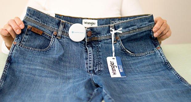Wrangler Herren Texas Slim Jeans im Test - Verschluss: Reißverschluss, Knopf
