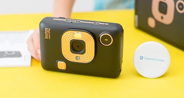 Fujifilm Instax Mini LiPlay Elegant Hybride Sofortbildkamera im Test - das Objektiv der instax mini LiPlay sorgt dafür, dass alle Details perfekt eingefangen werden