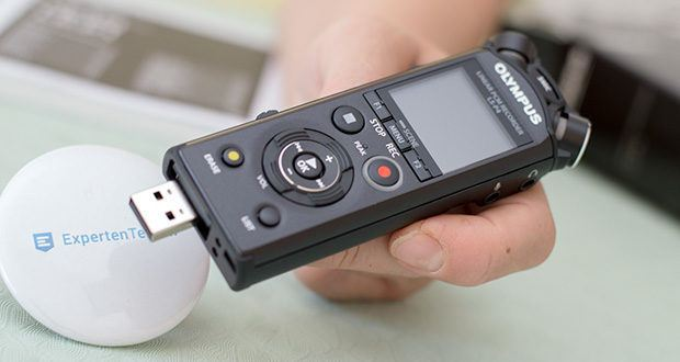 Olympus LS-P4 Hi-Res Audiorekorder im Test - Bluetooth-Kompatibilität für einen erweiterten Einsatzbereich