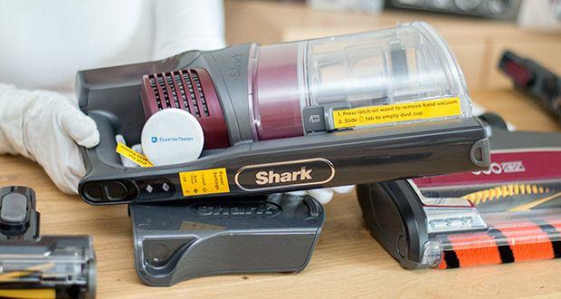 Shark Anti Hair Wrap IZ251EUT Staubsauger im Test - bietet eine beeindruckende Laufzeit von bis zu 80 Minuten