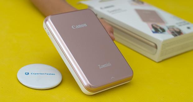 Canon Zoemini Mini Fotodrucker im Test - schick, schlank, leicht und immer dabei