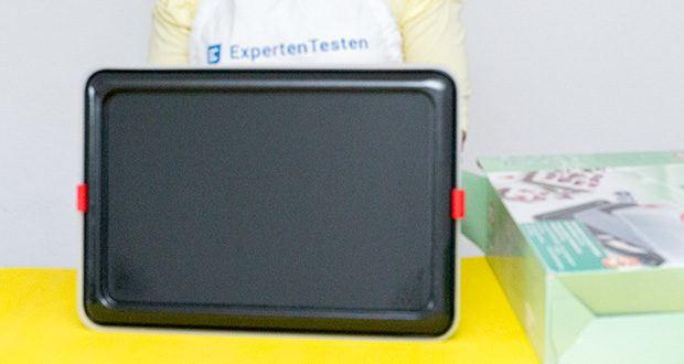 Dr. Oetker Rechteck-Springform mit Haube im Test - leichte Reinigung per Hand