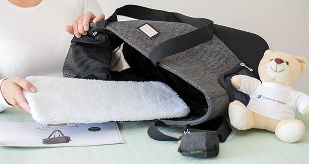 HUNTER BARCELONA Tragetasche für Hunde und Katzen im Test - bestehend aus Baumwolle und Polyester