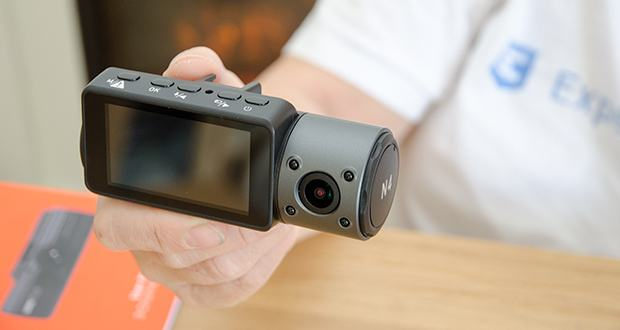 VANTRUE N4 3 Lens Dashcam im Test - das Gehäusematerial ist ABS + PC, kann die extreme Temperaturen von -10° bis 70°C standhalten