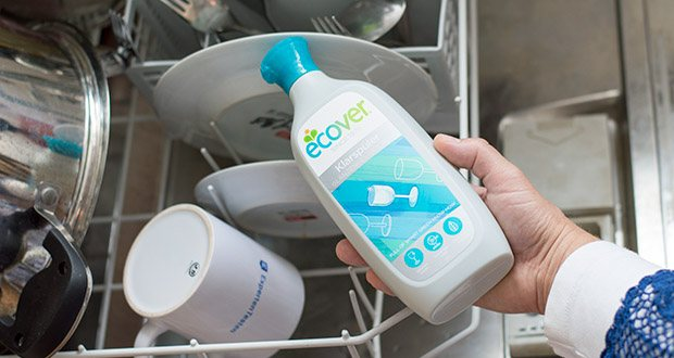 Ecover Ökologischer Klarspüler für Geschirrspülmaschinen im Test - hinterlässt keine schädlichen Rückstände auf Ihrem Geschirr