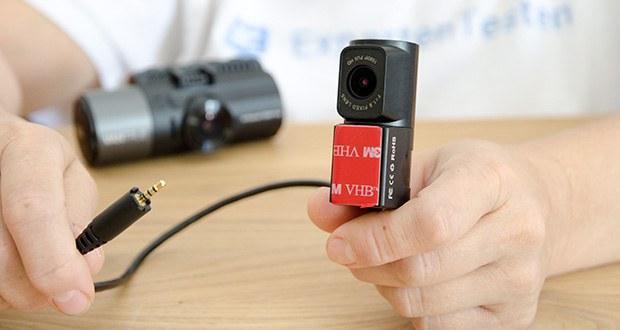 VANTRUE N4 3 Lens Dashcam im Test - 120 Grad Rückkamera mit 1440P und dual 1080P Auflösungen erhaltet ausführliche Informationen Hinter der Straße