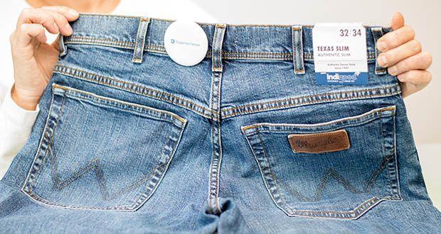 Wrangler Herren Texas Slim Jeans im Test - normaler Bund
