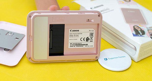 Canon Zoemini Mini Fotodrucker im Test - kleine Mikrokristalle auf dem Fotopapier werden erhitzt und lassen Ihr Bild in tollen Farben erstrahlen