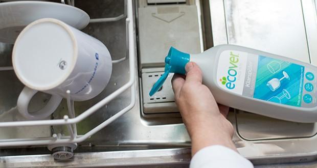 Ecover Ökologischer Klarspüler für Geschirrspülmaschinen im Test - verhindert Kalkablagerungen