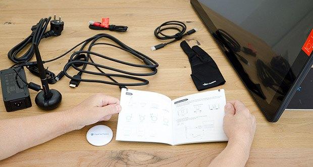 Huion Grafiktablett Kamvas 22 im Test - die Höhe des Kerns des PW517 wird von 6 mm auf 3,5 mm verkürzt, wodurch die Höhe des Magnetkerns verringert wird und die Stiftspitze stabiler und genauer positioniert wird