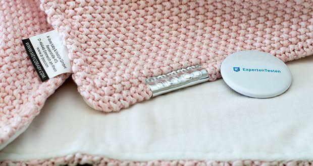 Meyco gestrickte Babydecke Winter im Test - hält schön warm
