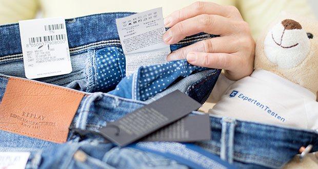 Replay Herren Anbass Jeans im Test - 95% Baumwolle, 5% Elasthan
