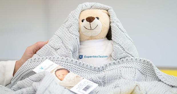 Wallaboo Babydecke Noa im Test - für jede Jahreszeit geeignet