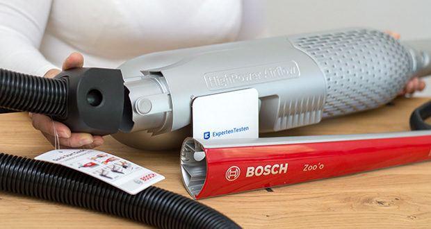 Bosch BCH6ZOOO Athlet Akku Staubsauger im Test - mit Handgriffsteuerung