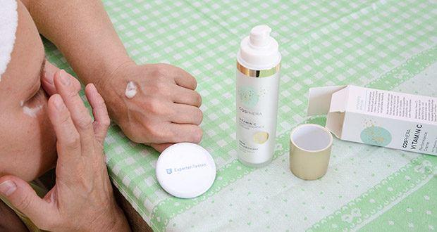 Cosphera Vitamin C Performance Creme im Test - ist bekannt als Anti-Aging Gesichts-Pflege gegen trockene Haut, Falten, Fältchen, Augenringe und Altersflecken