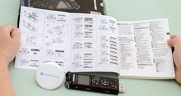 Olympus LS-P4 Hi-Res Audiorekorder im Test - der Audiorekorder mit hochwertigem TRESMIC 3-Mikrofonsystem kann Töne mit einem Frequenzbereich von 20 Hz bis 20 kHz aufnehmen