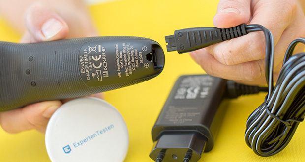 Panasonic ES-LV67-A803 Nass/Trocken-Rasierer im Test - Versorgungsspannung 100-240 V