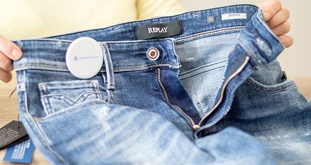 Replay Herren Anbass Jeans im Test - Pflegehinweis: Maschinenwäsche