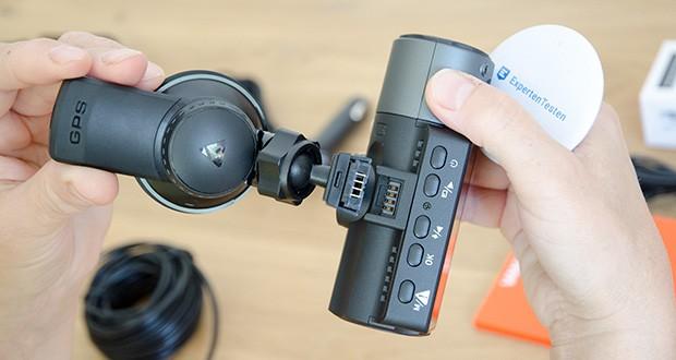 VANTRUE N4 3 Lens Dashcam im Test - 155° F1.4 Front- und 160° F1.8 Rückkamera können alle Details der Straße erfassen