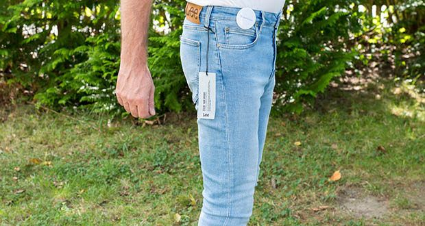 Lee Herren Malone' Jeans im Test - mit normaler Leibhöhe und Reißverschluss