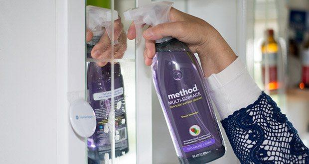 Methode Allzweck-Oberflächenreiniger Lavendel im Test - ist biologisch abbaubar, so dass Sie Ihr Zuhause reinigen können, ohne supertoxische Chemikalien