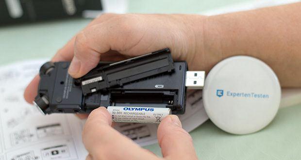 Olympus LS-P4 Hi-Res Audiorekorder im Test - schlankes und kompaktes Gerät zum Mitnehmen