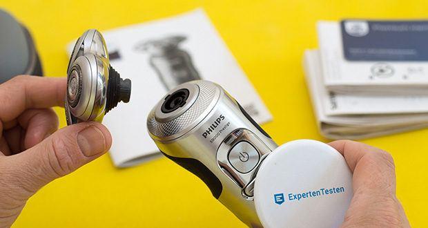Philips SP9820/18 Elektrischer Nass- und Trockenrasierer im Test - Konturanpassung: 8 Richtungen