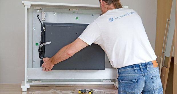 RICHEN Elektrischer Standkamin Baldur EF119B-MT119A im Test - ist für gut isolierte Räume, sowie den gelegentlichen Gebrauch geeignet